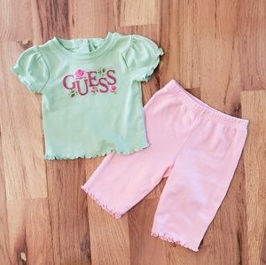NWOT Guess Baby Blouse w/Pants